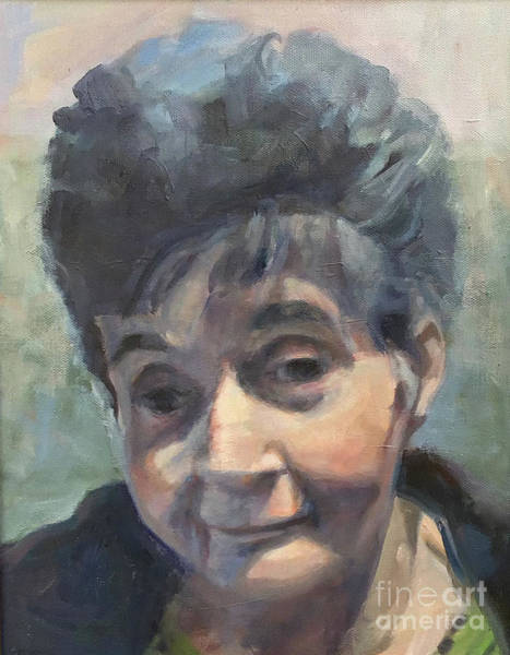 Painting - Portrait Of Mary by Deb Putnam