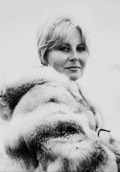 Wall Art - Photograph - Portrait Of Michele Morgan In 1963 by Keystone-france