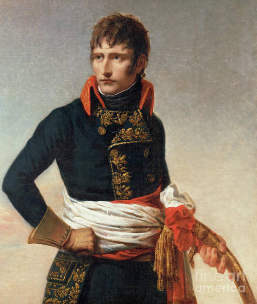 Wall Art - Painting - Portrait Of Napoleon Bonaparte 1769-1821, As First Consul by Andrea the Elder Appiani