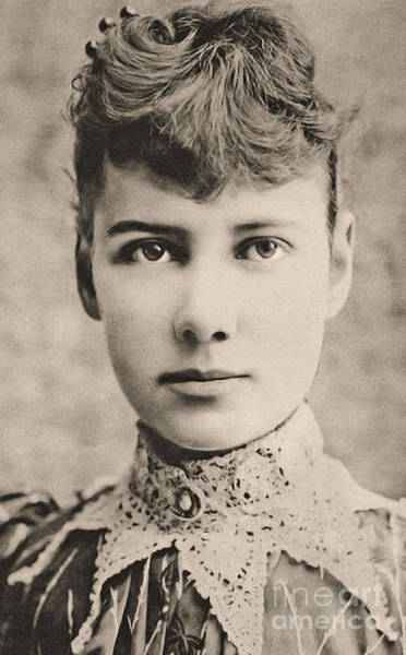 Wall Art - Photograph - Portrait Of Nellie Bly, Circa 1890 by American School