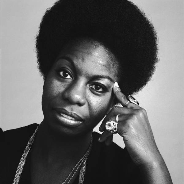 Photograph - Portrait Of Nina Simone by Jack Robinson