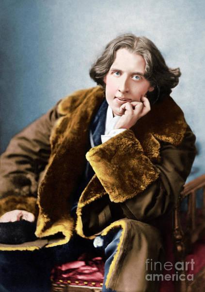 Wall Art - Photograph - Portrait Of Oscar Wilde, 1882 Photo by Napoleon Sarony