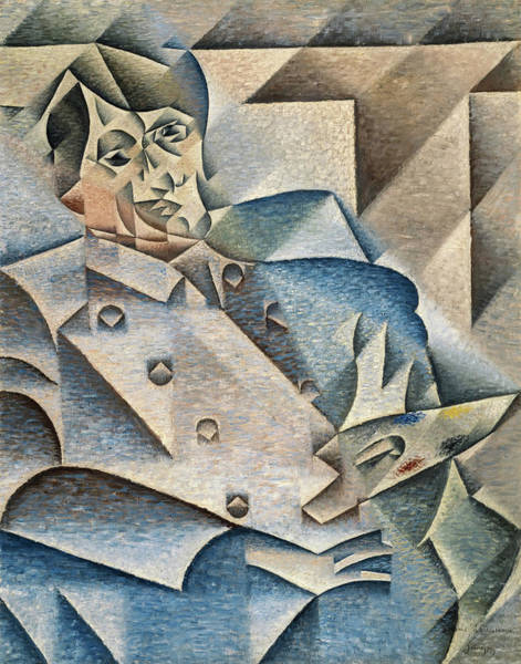 Wall Art - Painting - Portrait Of Pablo Picasso, 1912 by Juan Gris