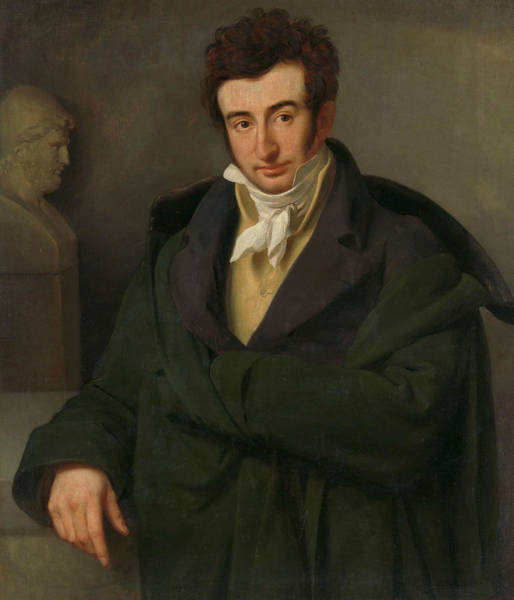 Painting - Portrait Of Paulus Joseph Gabriel by Woutherus Mol