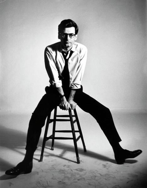Portrait Of Photographer Richard Avedon Art Print