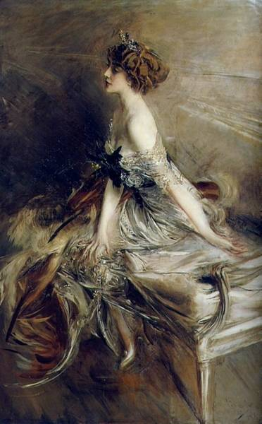 Wall Art - Painting - Portrait Of Princess Marthe-lucile Bibesco, 1911 by Giovanni Boldini