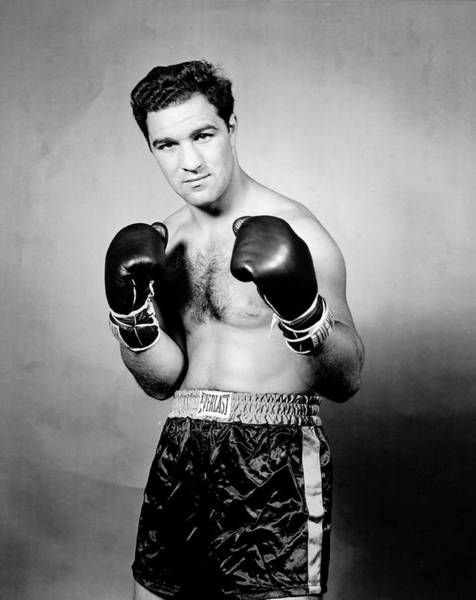 Photograph - Portrait Of Rocky Marciano by Eliot Elisofon