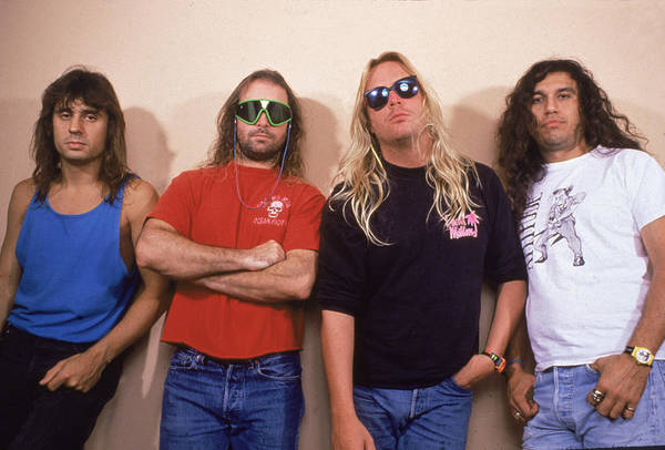 Thrash Metal Wall Art - Photograph - Portrait Of Slayer by Hulton Archive