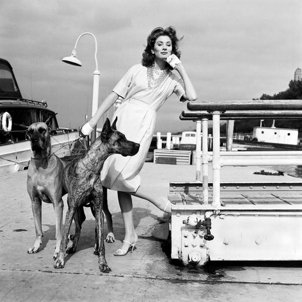 Fashion Model Photograph - Portrait Of Suzy Parker by Jack Robinson