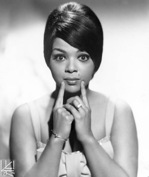 Photograph - Portrait Of Tammi Terrell by Michael Ochs Archives