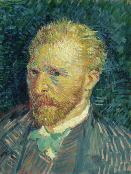 Wall Art - Painting - Portrait Of The Artist, 1887 by Vincent van Gogh