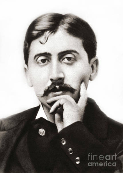 Wall Art - Photograph - Portrait Of The French Author Marcel Proust by French School