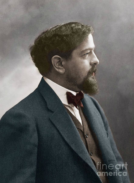 Wall Art - Photograph - Portrait Of The French Composer Claude Debussy by Nadar