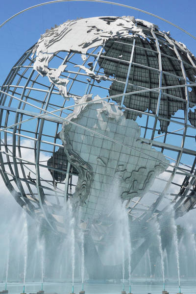 Photograph - Portrait Of The Unisphere by Cate Franklyn