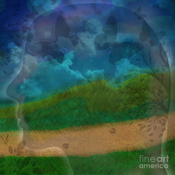 Digital Art - Portrait Of Time by Diamante Lavendar