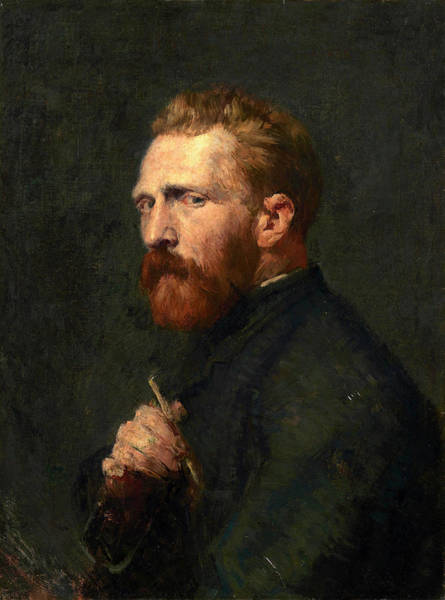 Painting - Portrait Of Vincent Van Gogh by John Peter Russell