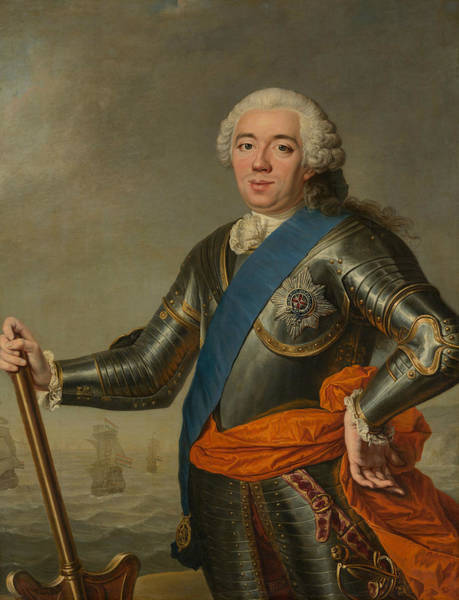 Painting - Portrait Of William Iv, Prince Of Orange by Jacques Aved