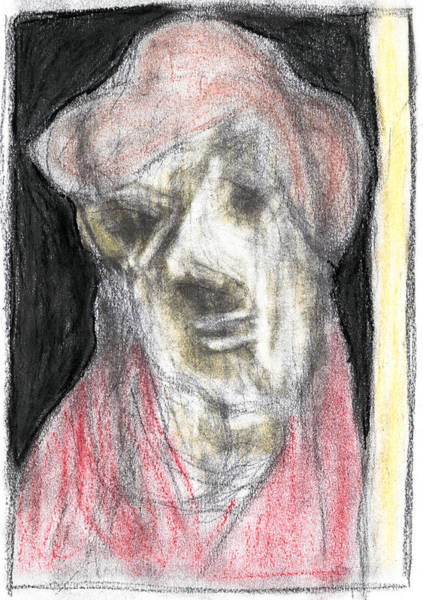 Pastel - Portrait Pastel Drawing by Artist Dot