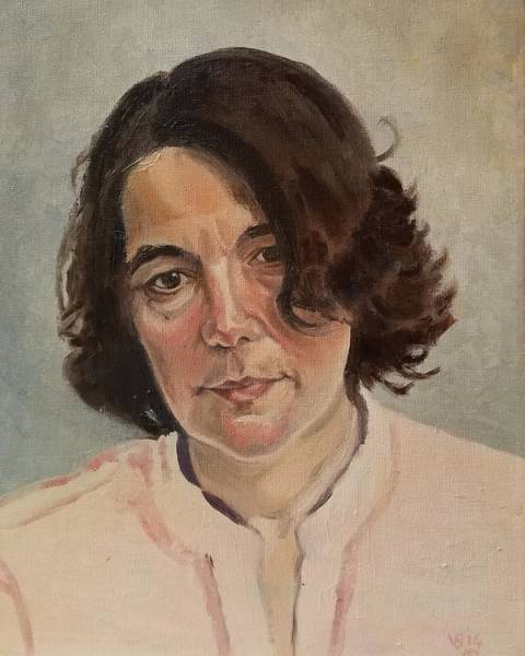 Painting - Portrait by Vera Smith