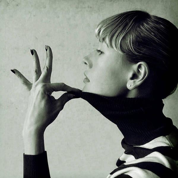 Bangs Photograph - Portrait  Woman by Yulia.m