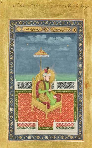 Wall Art - Painting - portraits of Mughal emperors and their ancestors, India, Delhi, late Mughal, early 19th century 8 by Celestial Images