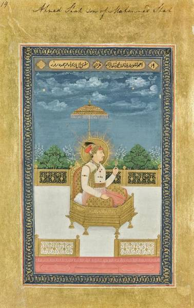 Wall Art - Painting - portraits of Mughal emperors and their ancestors, India, Delhi, late Mughal, early 19th century by Celestial Images