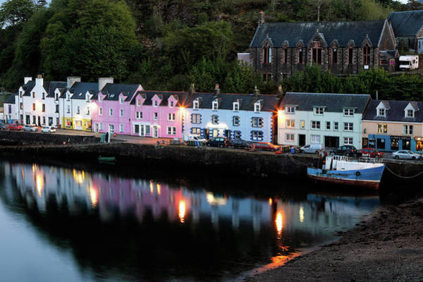 Photograph - Portree Harbour by Nicholas Blackwell