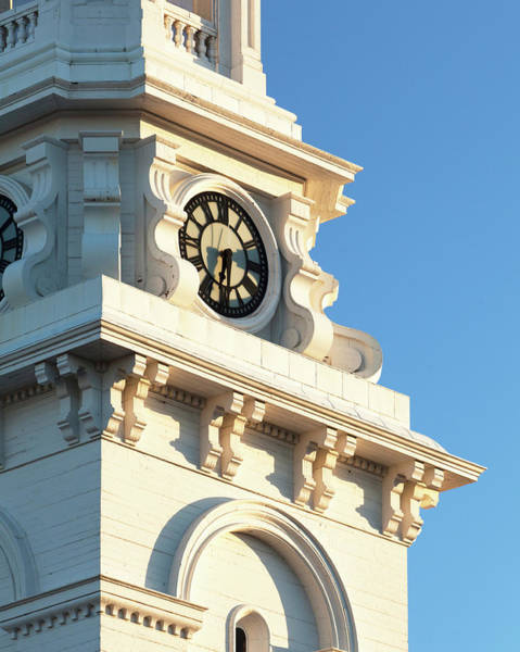 Wall Art - Photograph - Portsmouth Clocktower Detail by Eric Gendron
