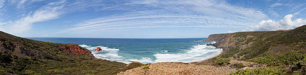 Sagre Wall Art - Photograph - Portugal, Panoramic View Of Ponta Ruiva by Westend61