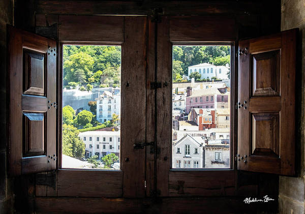 Wall Art - Photograph - Portugal Window View by Madeline Ellis
