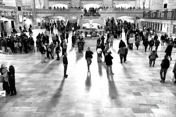 Photograph - Poser At Grand Central Terminal New York City by John Rizzuto