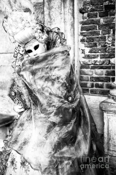 Wall Art - Photograph - Posing At Carnival In Venice by John Rizzuto