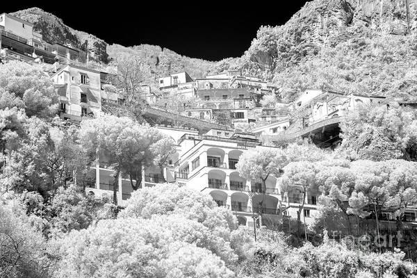 Wall Art - Photograph - Positano Balcony View Infrared by John Rizzuto