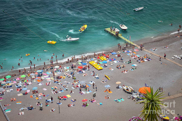Photograph - Positano Beach IIi by Brian Jannsen