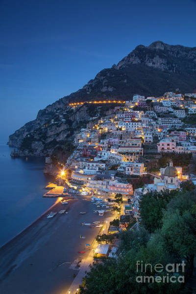 Photograph - Positano Morning Twilight by Brian Jannsen