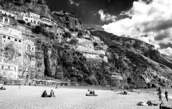Wall Art - Photograph - Positano Spring Beach Day by John Rizzuto
