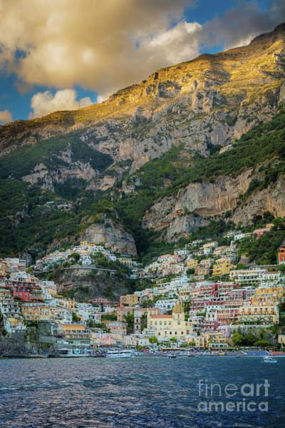 Wall Art - Photograph - Positano Terraces by Inge Johnsson