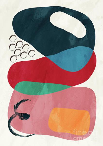 Wall Art - Pyrography - Positive Colors 8 by Mark Ashkenazi