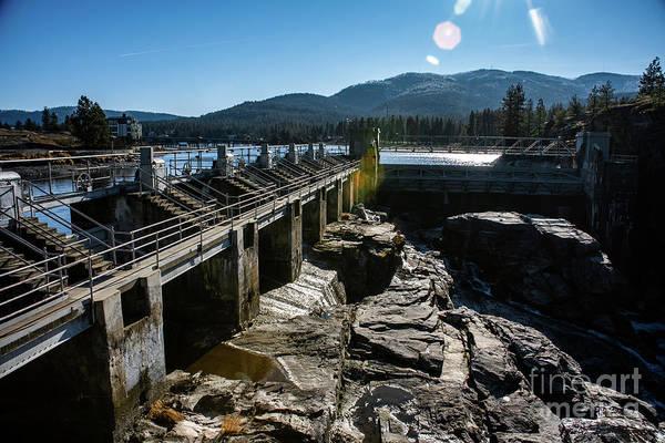 Photograph - Post Falls Dam 2019 by Matthew Nelson