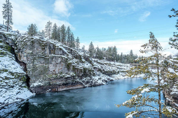 Photograph - Post Falls Park In Winter by Matthew Nelson