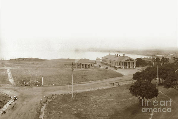 Photograph - Post Gymnasium Presidio Of Monterey Circa 1910 by California Views Archives Mr Pat Hathaway Archives