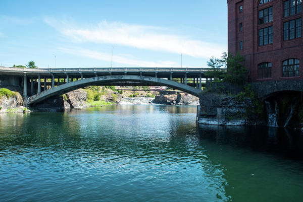 Wall Art - Photograph - Post Street Bridge And Upper Falls by Tom Cochran