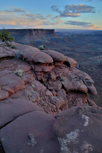 Photograph - Post Sunset At Green River Overlook by Ray Mathis
