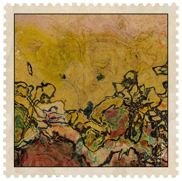 Mixed Media - Postage 2 by The Art Of JudiLynn
