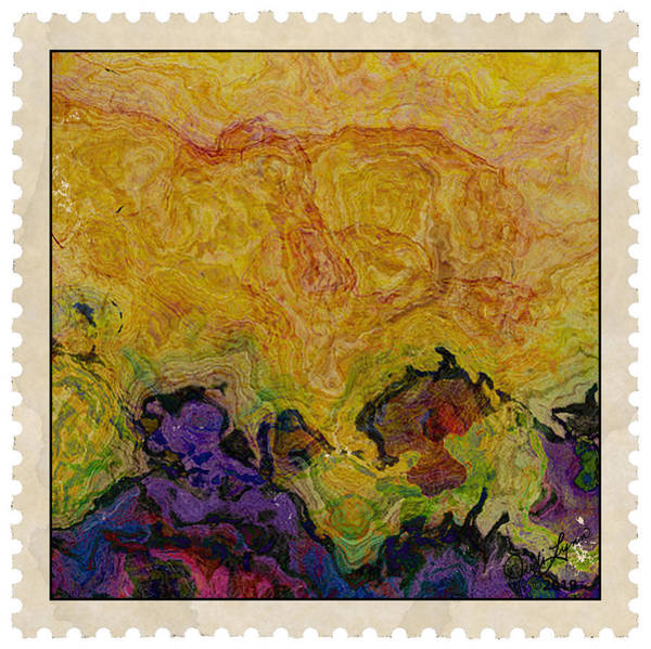 Mixed Media - Postage 3 by The Art Of JudiLynn