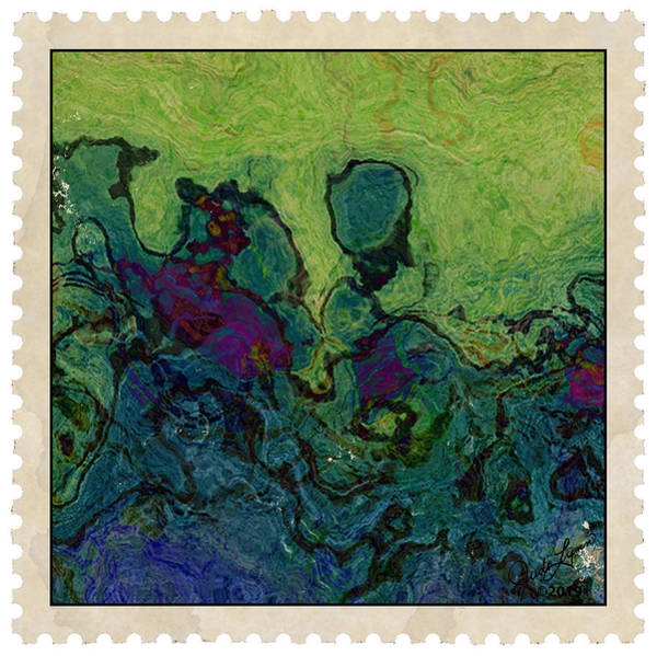 Mixed Media - Postage 4 by The Art Of JudiLynn