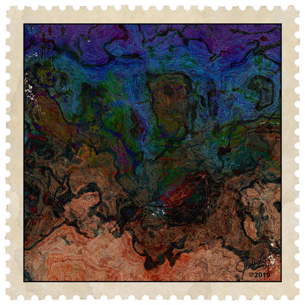 Mixed Media - Postage 9 by The Art Of JudiLynn