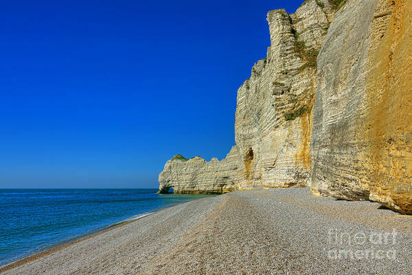 Wall Art - Photograph - Postcard From Etretat by Olivier Le Queinec