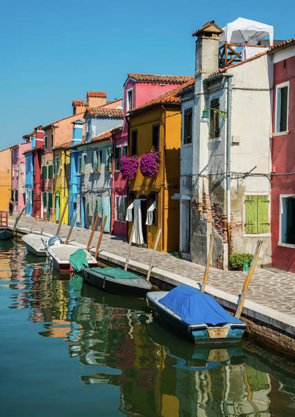 Venezia Wall Art - Photograph - Postcards From Burano by Jaroslaw Blaminsky