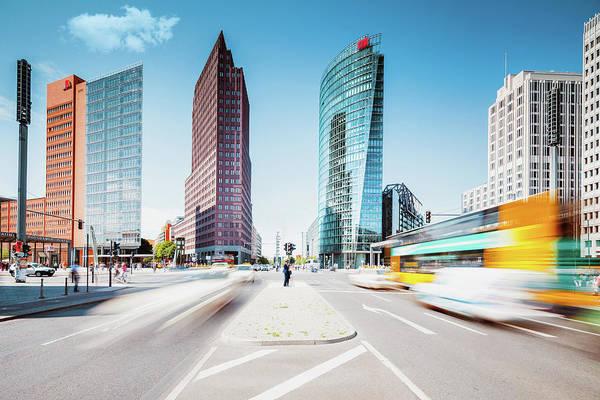 Sony Center Photograph - Postdamer Platz ,summer In The City by @by Feldman 1